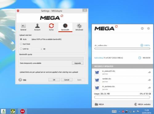 Imagen - MEGA Sync, el cliente de MEGA para Windows