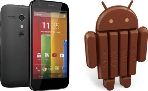 Imagen - Motorola Moto G se actualiza a Android 4.4.2 en España