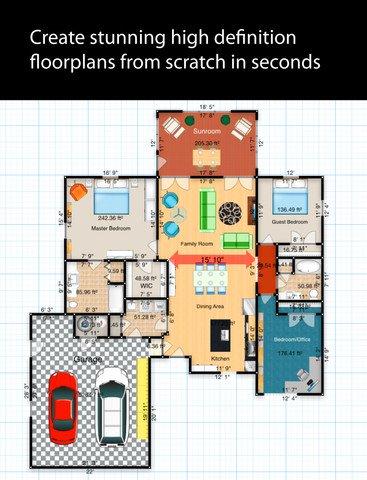 Imagen - Floorplans, una app para crear planos