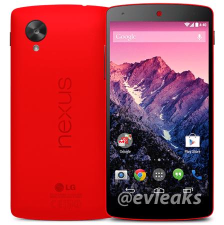 Imagen - Nexus 5 en color rojo ya es oficial