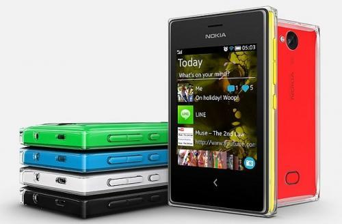 Imagen - Nokia Asha 500, 502 y 503, teléfonos básicos para WhatsApp y redes sociales