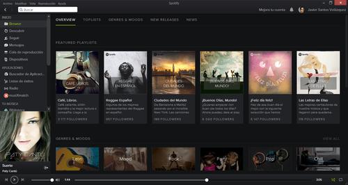 Imagen - Spotify estrena nueva interfaz