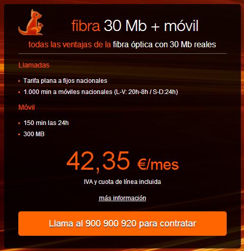 Imagen - Orange lanza fibra óptica de 30 megas