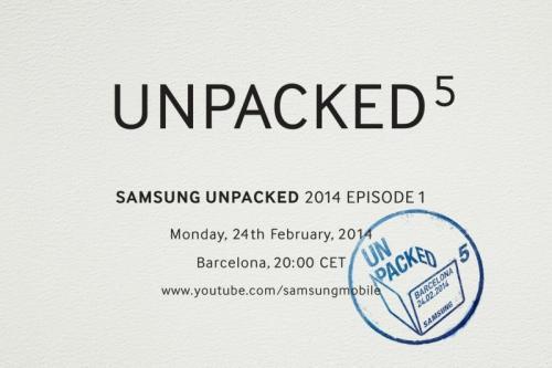 Imagen - Samsung Galaxy S5 llegará el 24 de febrero