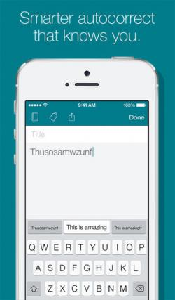 Imagen - Descarga ya el teclado SwiftKey Note para iOS