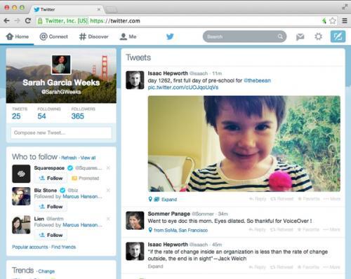 Imagen - Twitter renueva su cliente web para adaptarlo al diseño de las apps