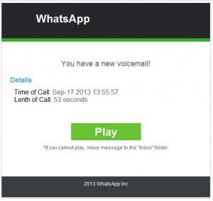Imagen - Malware en WhatsApp que utiliza notificaciones falsas del buzón de voz