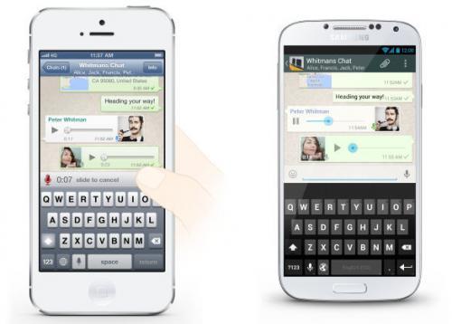 Imagen - WhatsApp simplifica los mensajes de voz