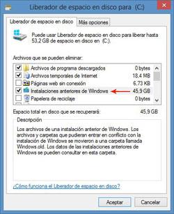 Imagen - ¿Qué es Windows.old y cómo eliminar la carpeta?