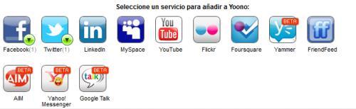 Imagen - Yoono Desktop, una aplicación para gestionar redes sociales