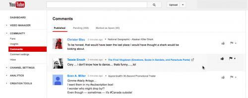 Imagen - YouTube vuelve a permitir la gestión de comentarios sin usar Google+