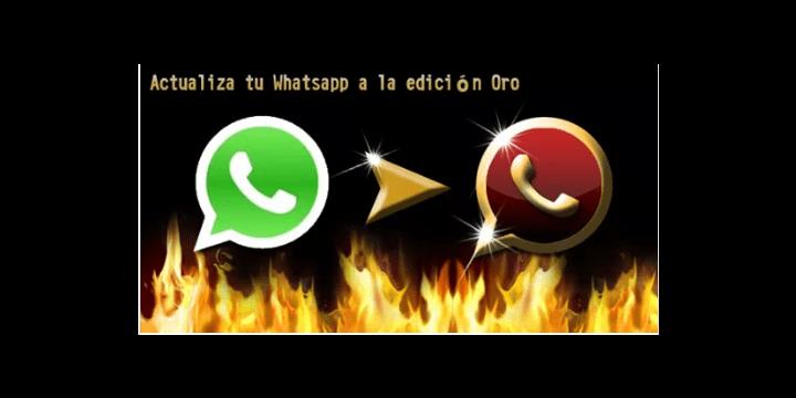 Una cadena de WhatsApp advierte sobre WhatsApp Oro