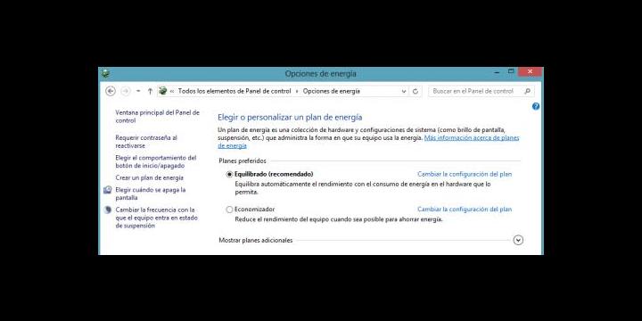 Cómo habilitar hibernación en Windows 8