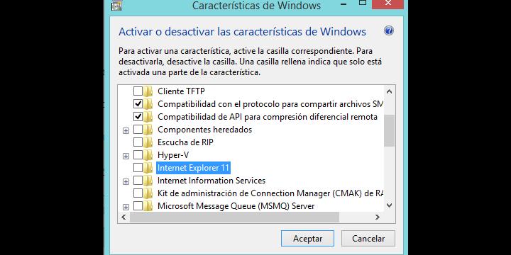 Cómo eliminar Internet Explorer