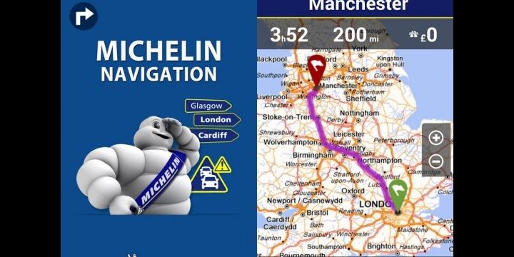 Michelin Navigation, todo lo que un conductor necesita en la pantalla de un smartphone