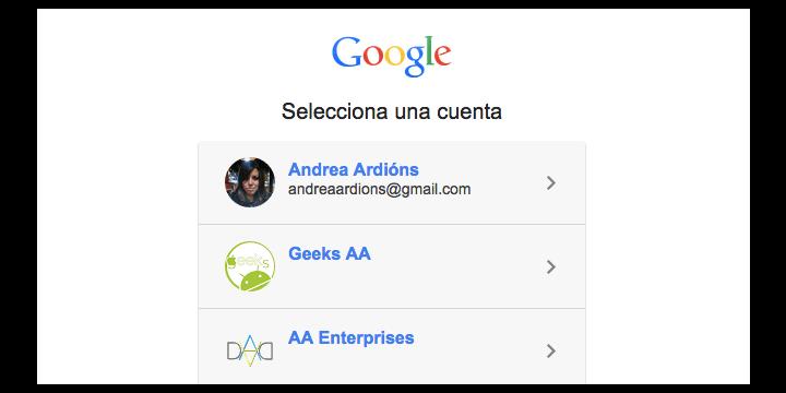 Cómo cambiar la cuenta predeterminada de Google