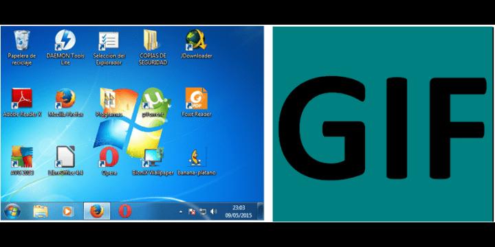 Cómo poner un GIF como fondo de pantalla
