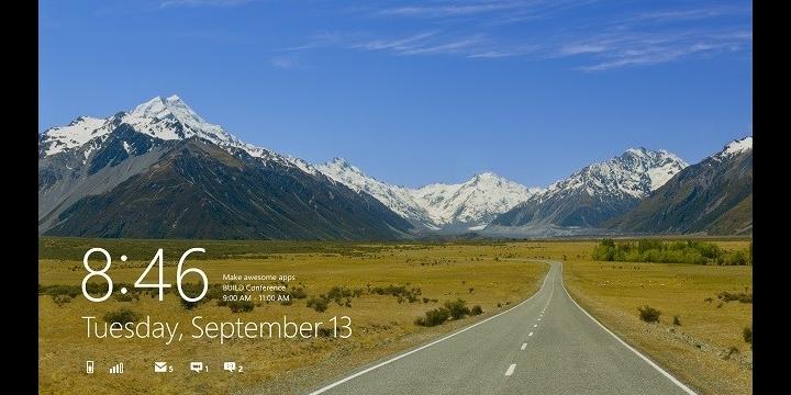 Cómo quitar Calendario en la pantalla de bloqueo de Windows 10