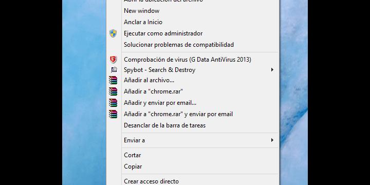 Crear atajos de teclado para abrir programas en Windows