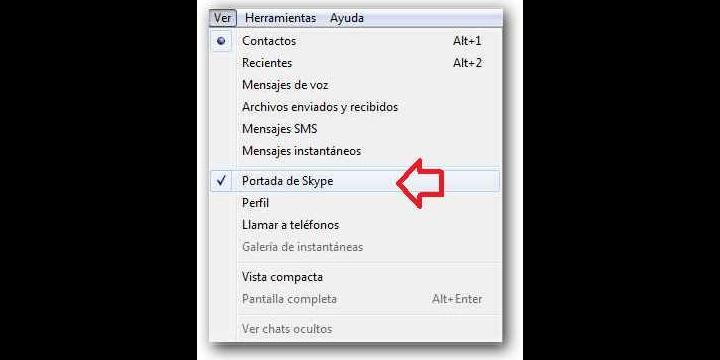 Conectar a Facebook desde Skype