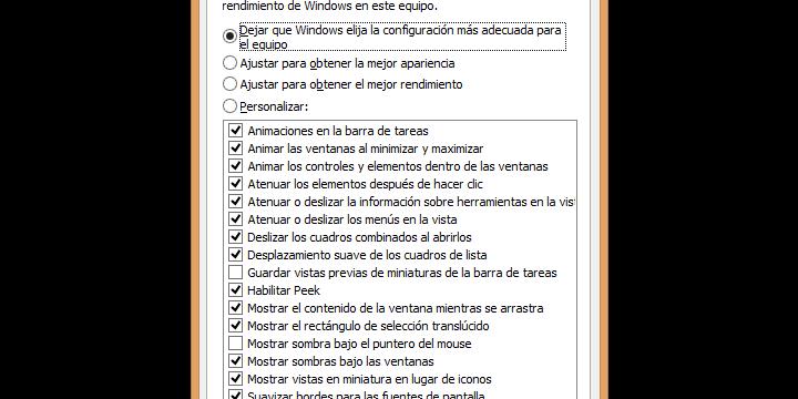 Cómo mejorar el rendimiento de Windows 8