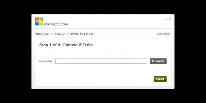 Cómo preparar un pendrive con Windows 7