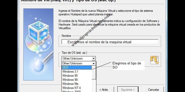 Virtualizar un sistema operativo con VirtualBox