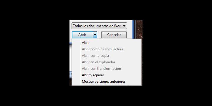 Cómo reparar archivos .doc corruptos
