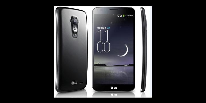LG G Flex, el primer teléfono curvo disponible con Vodafone