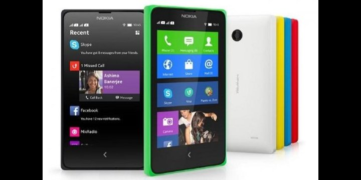 Nokia venderá en España el Nokia X+ y Nokia XL