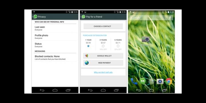 WhatsApp se actualiza con nuevas opciones de privacidad
