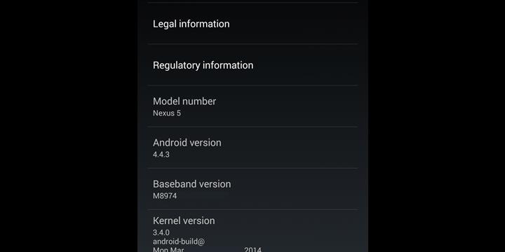 Conoce las primeras novedades del próximo Android 4.4.3