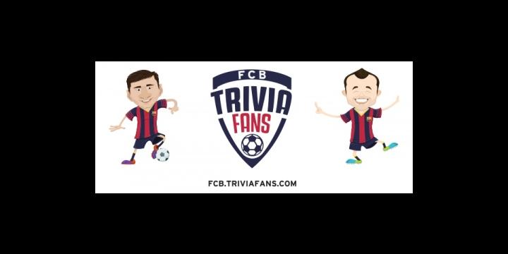 FCB Trivia Fans, el juego de preguntas y respuestas sobre el FC Barcelona