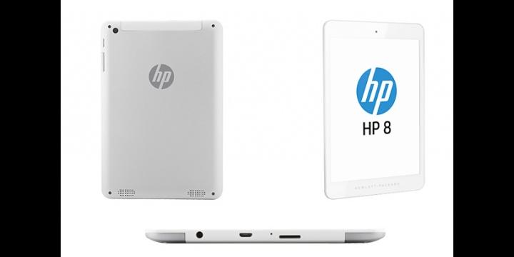 HP 8, un tablet de casi 8 pulgadas a un precio competitivo