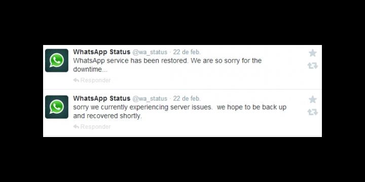 ¿Por qué se cayó WhatsApp?