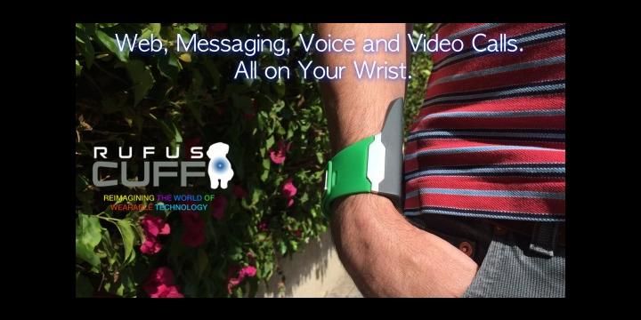 Del smartwatch al teléfono en la muñeca: Rufus Cuff