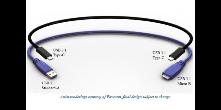 El nuevo USB 3.1: simétrico y más rápido