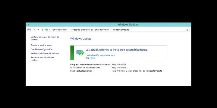Fin del soporte de Windows 8.1 el próximo 13 de mayo