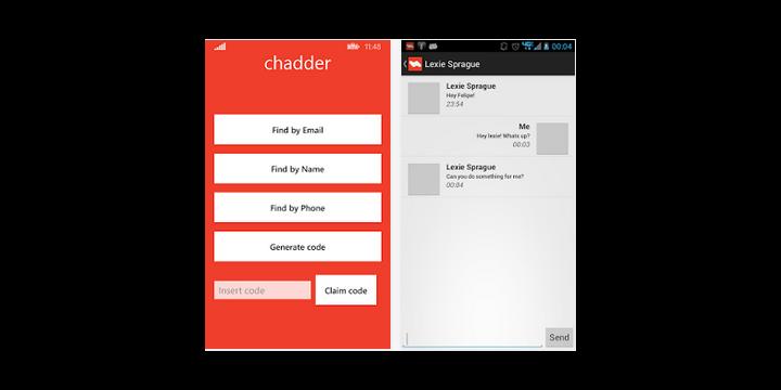Chadder, otra alternativa segura a WhatsApp