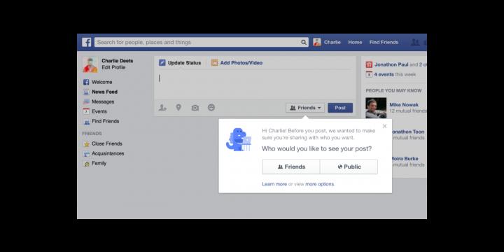 Facebook renueva sus opciones de privacidad