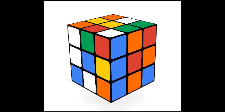 El Doodle de Google celebra 40 años del cubo de Rubik