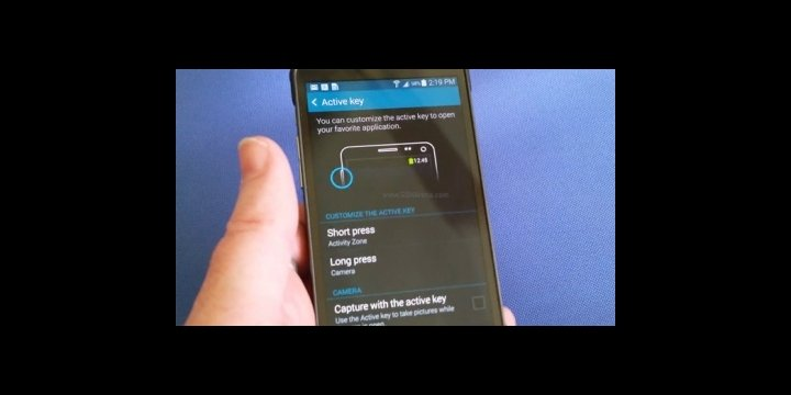 Samsung Galaxy S5 Active: vídeo y especificaciones
