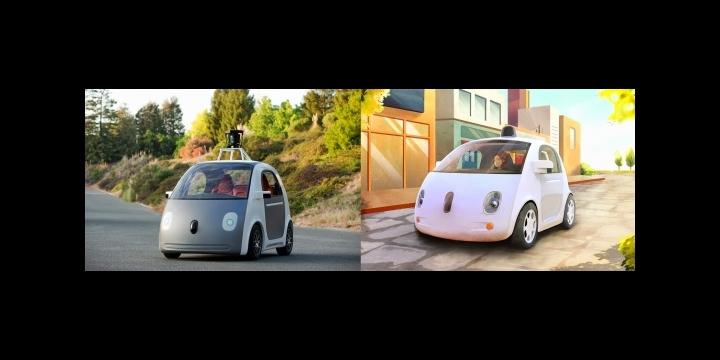 Google prepara su coche sin conductor, volante ni pedales