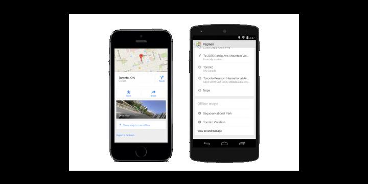 Google Maps se actualiza con mejoras en el offline y se integra con Uber
