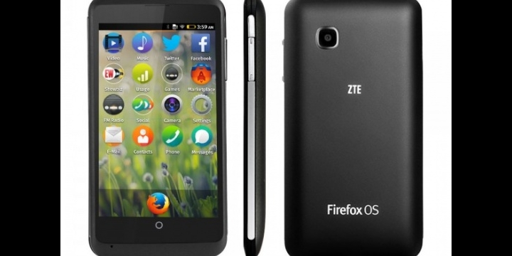 ZTE Open C con Firefox OS ya disponible en eBay por menos de 100 euros
