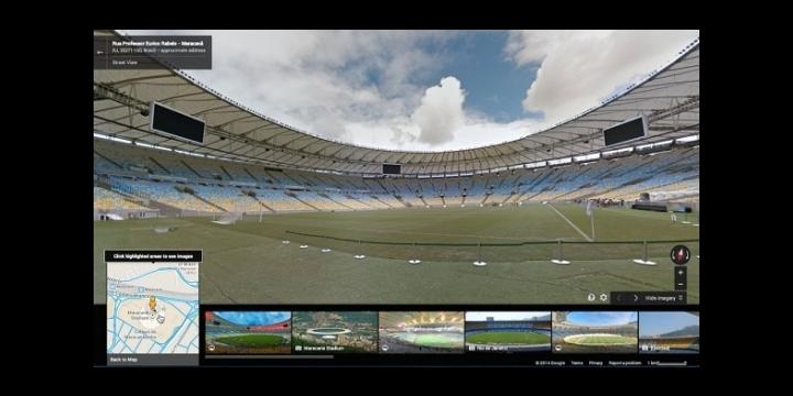 Google Street View se cuela en los 12 estadios del Mundial de Brasil
