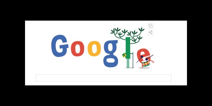 Google repite Doodle del Mundial de Brasil en su segunda jornada