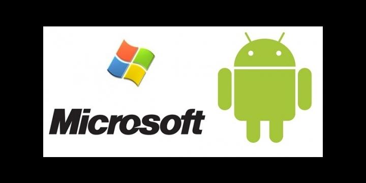Microsoft es la empresa que más gana con Android, el sistema operativo de Google