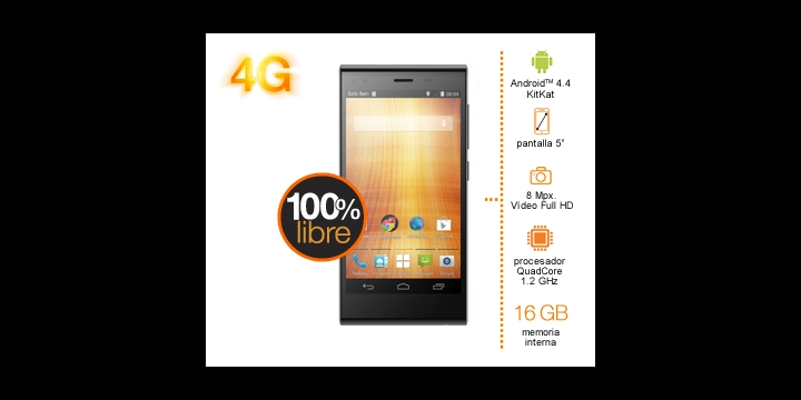 Orange Rono con 4G a 179€