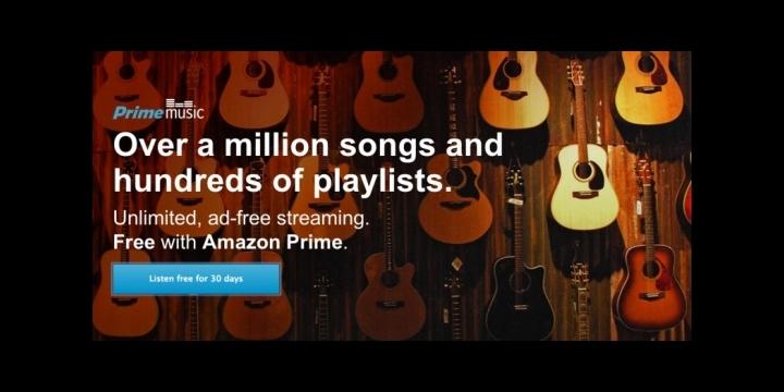 Amazon presenta Prime Music, su servicio de música en streaming